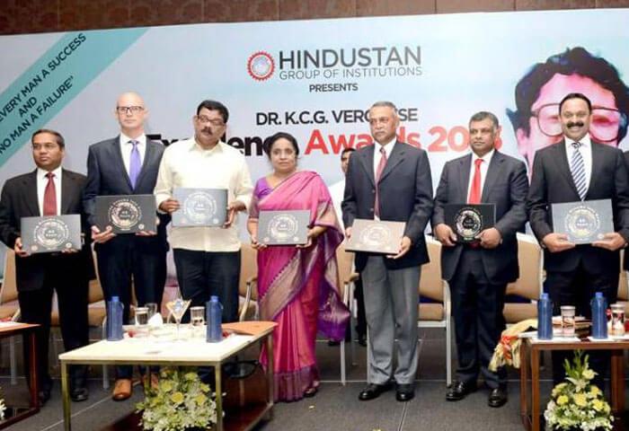Hindustan University's Life Achievement Award